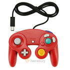 Red Black Silver Shock Game Controller Pad for Nintendo Gamecube GC Wii US Ship