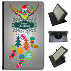 Merry Christmas Christmas Decorations Universal Leather Case For Alba Tablets