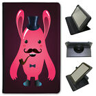 Funny Freak Hipster Trendy Monsters Universal Leather Case For Linx Tablets