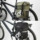 Bike Rear Seat Bag Bicycle 15L Unilateral Tail Rack Pack Handbag Waterproof