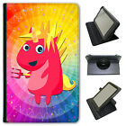 Mythical Magical Unicorns Dressing Up Universal Leather Case For Kobo Tablets
