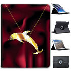Pictures of Insect Animal Pendants Folio Cover Leather Case For Apple iPad