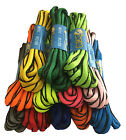SPORTS RUNNING OVAL SHOE LACES SHOELACES - BLACK EDGING - FREE UK P&P!