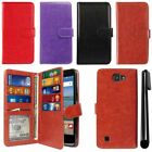 For LG Optimus Zone 3 VS425PP/K120/K4 Flip Magnetic Card Wallet Cover Case + Pen