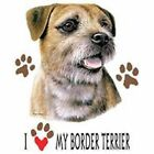 Border Terrier Love T Shirt Pick Your Size 7 X Large to 14X Large