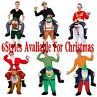 Piggy Back Shoulder Carry Me Stag Fancy Dress Costume Mens Party Outfit Ride On