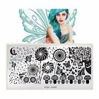 DIY Stencil Nail Art Image Polish Stamp  Plate Manicure Design Template Tool