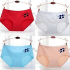 Girl Panties Underwear Briefs Kncikers Breathable Women Low Waist Lady
