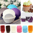 Mini Cupcake Cases Solid Color 100pcs Baking Candy Cake Greaseproof Paper Cups
