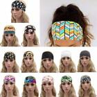 Women Wide Elastic Sports Yoga Gym Headband Hair Band Head wrap Boho Turban LA