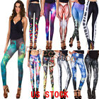 11 Items Choices Women Ankle Pants Galaxy Leggings Sexy Girls Trousers US STOCKS