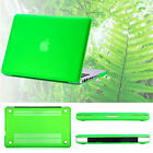 "2in1 Grass Green Matte Hard Case Skin for MacBook 12"" Air Pro 11"" 13"" 15""+Retina"