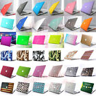 "Marble/ PU Leather/ Quicksand Matte Case for MacBook Air 13"" 13.3"" A1369 A1466"