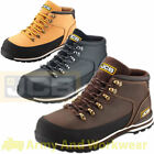 JCB 3CX Mens Waterproof Leather Safety Work Boots Steel Toe Cap Midsole Wide Fit