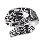 Fashionable .925 Sterling Silver Spoon Style Ring Size 6-10 - New