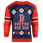 Forever Collectibles MLB Men's Boston Red Sox Men's Printed Ugly Sweater