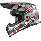 Oneal 5 Series Wingman Motocross Helmet Quad Dirt Bike Off Road ATV Enduro Lid