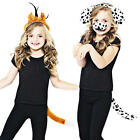 Animal Fox or Dalmation Kids Fancy Dress Book Character Childs Costume Kits New