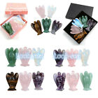 NEW!Lucky Guardian Angel Energy Home Office Decor Set Healing Crystal Stone