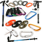 Camping Hiking Hook Key Chain Hanging Buckle / Anti-shock Hiking Trekking Stick