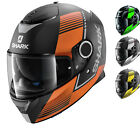 Shark Spartan Arguan Motorcycle Helmet Sun Visor Motorbike D-Ring Full Face Bike