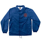 Independent Crusher Coach Windbreaker Jacket Royal Blue