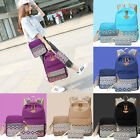 3pcs Fashion Women Lady Travel Canvas Rucksack Backpack Tote School Shoulder Bag