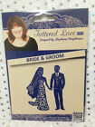 Tattered Lace Die - BRIDE & GROOM (D236) - Wedding stationery, embellishments