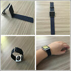Blue Jean Genuine Leather Strap Bracelet Watch Bands For Apple Watch Series1 2