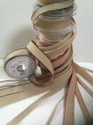 Berisfords Back to Nature 'Hopsack' -Vintage Rustic ribbon- 3 widths & 4 Shades!