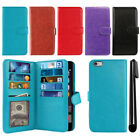 "For Apple iPhone 6/ 6S 4.7"" Flip Magnetic Card Holder Wallet Cover Case + Pen"