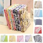 25cm Assorted Pattern Floral Cotton Fabric Bundles Cloth Sewing Crafts
