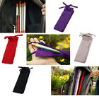 Cotton Cloth Fishing Rod Pole Sleeve Cover Pole Protector Gear Bag Case 1.25M