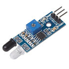 Diffuse Reflection Obstacle Avoidance Sensor Module Infrared Photoelectric 35°5V