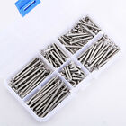 M3 Stainless Steel Button Head Hex Socket Cap Screw Nut Box Assortment Kit 16-40