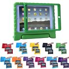 Bumper Case for Kids iPad 2/3/4 Shockproof Cover with Built In Screen Protector