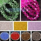 Wholesale 500pcs 3mm Bicone Faceted Crystal Glass Loose Spacer Beads (85 Colors)
