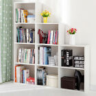 1 2 3 4 Tier Wooden Bookcase Shelving Display Shelves Storage Unit Wood Shelf