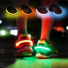 Внешний вид - LED Luminous Shoe Clip Light Night Safety Warning Running Sports  Valentine