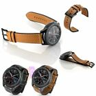 Luxury Genuine Leather Strap Band For Samsung Gear S3 Frontier  / Classic 22mm