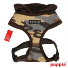 Luxury Line Puppia Dog Harness Military HOODED HUNTER BROWN CAMO - SMALL