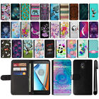 For Motorola Moto E3 3rd 2016 Design Flip Wallet Card POUCH Case Cover + Pen