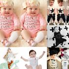 Lovely Baby Girls Boys Newborn Summer Jumpsuit Romper Cute Climbing Clothes TY