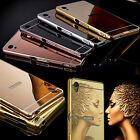 Ultra Thin Metal Aluminum Mirror Hard Back Case Cover For All Sony Xperia Phone