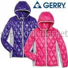 NEW GIRLS GERRY DOWN SWEATER JACKET HOODED DOWN COAT W/ KNIT SIDE PANELS VARIETY