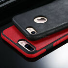 Shockproof Soft Rubber PU Leather Silicone Back Case Cover For iPhone 7 6S Plus