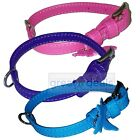 Genuine Leather Dog Collar Small Glamour Adjustable 3 Colors
