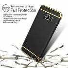 For New Samsung Galaxy S7 Edge Electroplate 3in1 Removable Armor Hard Case Cover