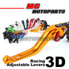 New 3D-Style Short Brake Clutch SIX Colour Lever For YAMAHA YZF R1 R1M 2015