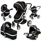 iSafe 3 in 1 - Black (With Car Seat)